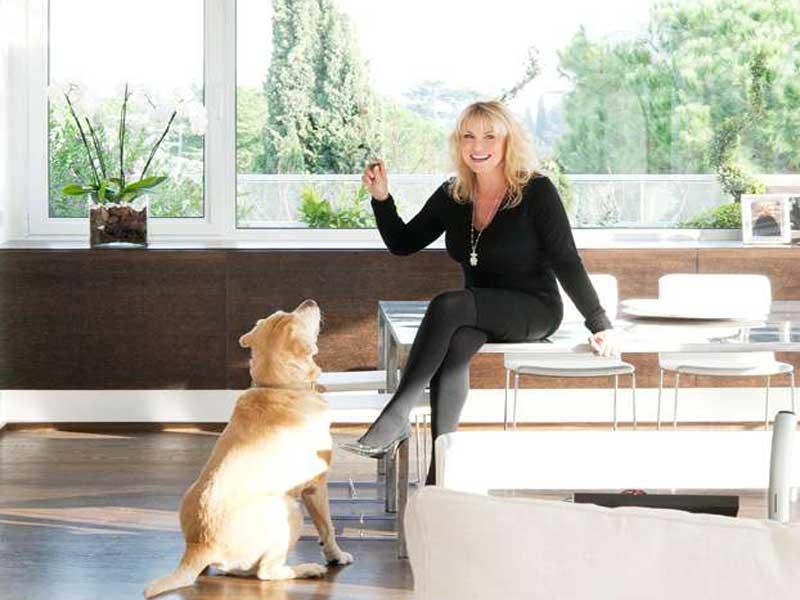 Case vip: la casa di Antonella Clerici