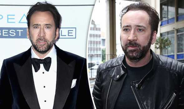 Image result for Nicolas Cage broke before after