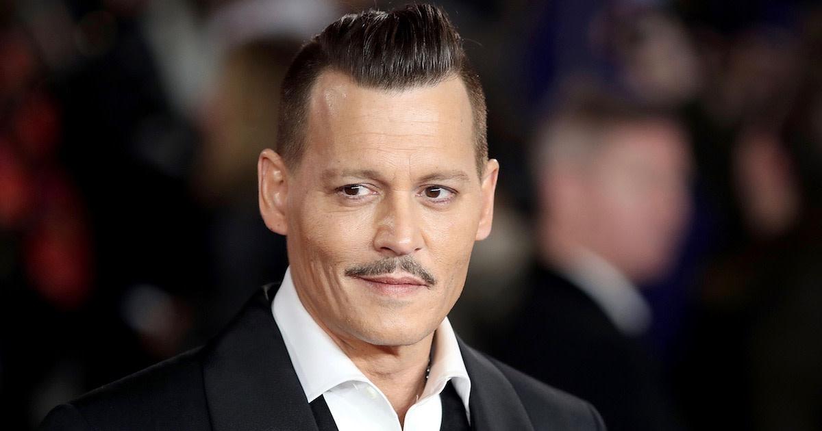 Image result for Johnny Depp broke