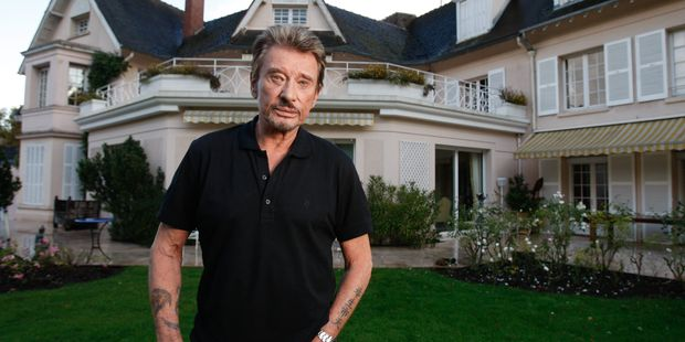 Image result for Johnny Hallyday house